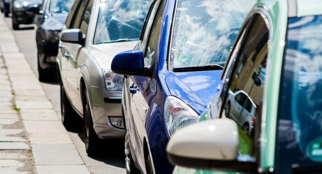 Боковой интервал между автомобилями
