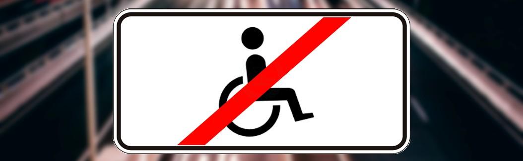 Табличка 8.18 для инвалидов 3 группы