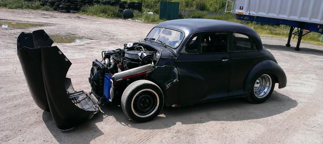 Как распознать нестоковый отличающийся мотор в машине?